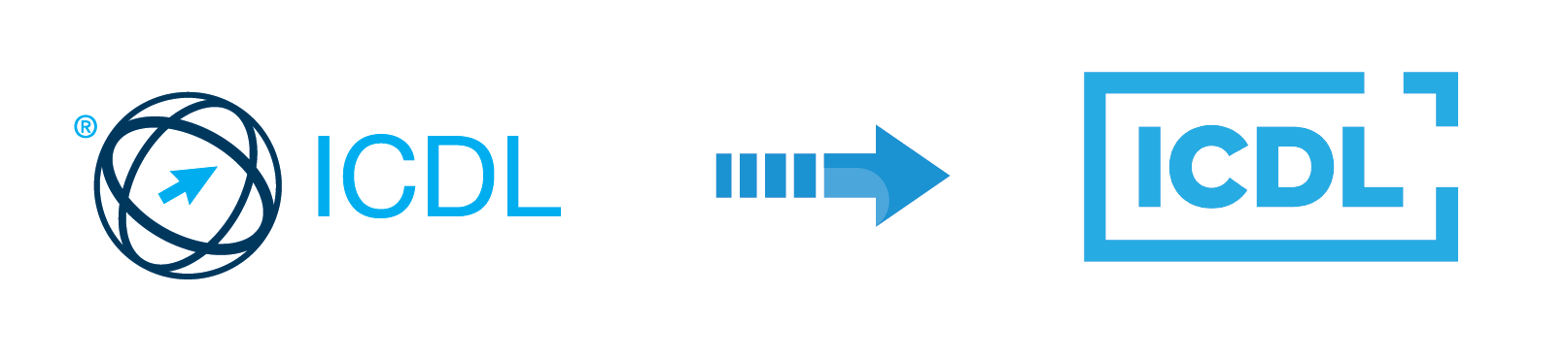 Tổ chức điều hành và cấp chứng chỉ tin học ICDL chính thức thay đổi logo nhận diện
